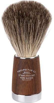 Co Prospector Men's Pure Badger Wood Chrome Handle