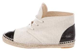 Chanel CC Espadrille Sneakers