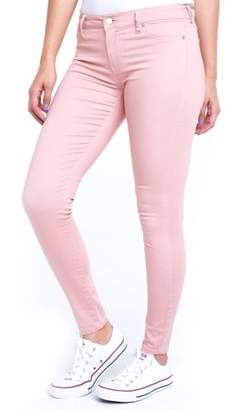 "Planet Pink Juniors' Super Soft Mid-Rise 29"" Jeggings (Denim and Color Washes)"