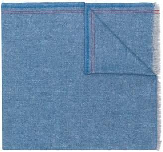 Ermenegildo Zegna slub herringbone scarf