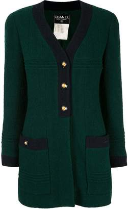 Chanel Pre-Owned CC button cardigan