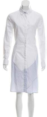 J.W.Anderson Poplin Button-Up Shirtdress