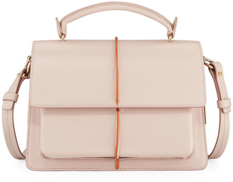 Marni Attache Leather Top Handle Bag