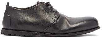Marsèll Carrottola Grained Leather Derby Shoes - Mens - Black