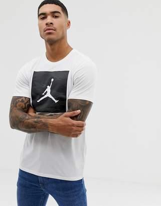 9452d454bf6 Jordan Nike Iconic 23/7 Box Logo T-Shirt In White
