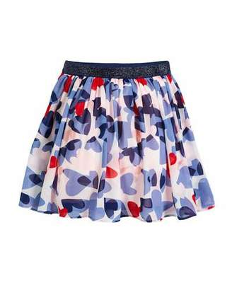 Kate Spade Confetti Heart A-Line Skirt, Size 7-14