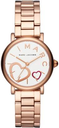 Marc by Marc Jacobs Classic Rose Gold-Tone Bracelet Watch