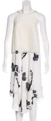 Tibi Sleeveless Midi Dress