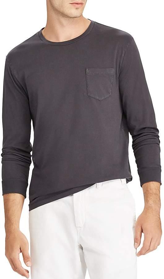 Polo Ralph Lauren Custom Slim Fit Long Sleeve Pocket Tee