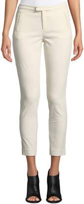 ATM Anthony Thomas Melillo Stretch-Corduroy Cropped Slim-Leg Pants