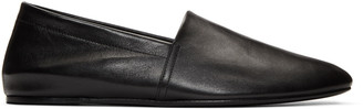 Pierre Hardy Black Prince Slipper Loafers $455 thestylecure.com