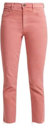 MiH Jeans Mimi High Rise Jeans - Womens - Dark Pink