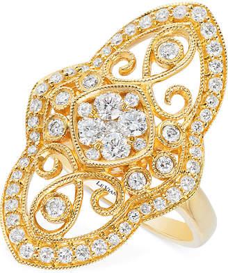 LeVian Le Vian Vintage Diamond (7/8 ct. t.w.) Ring in 14k Gold