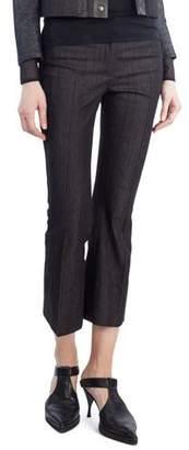 Akris Punto Manou Cropped Denim Pants