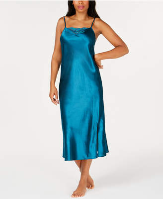 Thalia Sodi Lace-Trim Nightgown, Created for Macy's