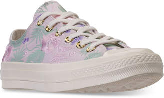 Converse Unisex Chuck Taylor All Star 70 Palm Print Low Top Casual Sneakers from Finish Line