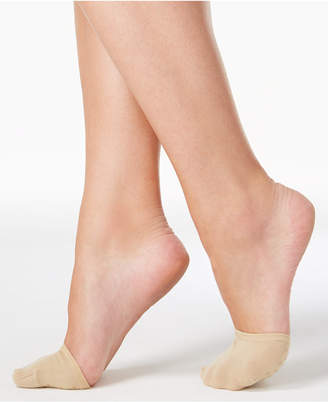 Hue Women's Toe Cover Socks with Grippers