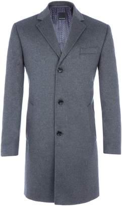 Woolrich Men's Baumler Leopold Wool-Rich Overcoat