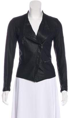 Surface to Air Lightweight Leather Jacket