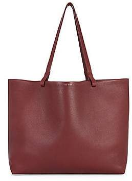 The Row Women's Lux Grained Leather Shopper Tote