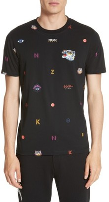 Men's Kenzo Allover Tiger T-Shirt $185 thestylecure.com