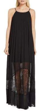 BCBGeneration Solid Pleated Dress