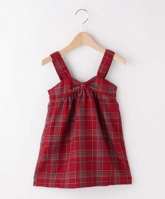 3can4on (サンカンシオン) - サンカンシオンキッズ チェック柄ジャンパースカート