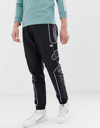 adidas flamestrike joggers in black