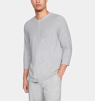 Under Armour Men's Athlete Recovery Sleepwear Ultra Comfort 3/4 Henley