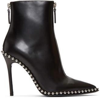 Alexander Wang Black Eri Boots
