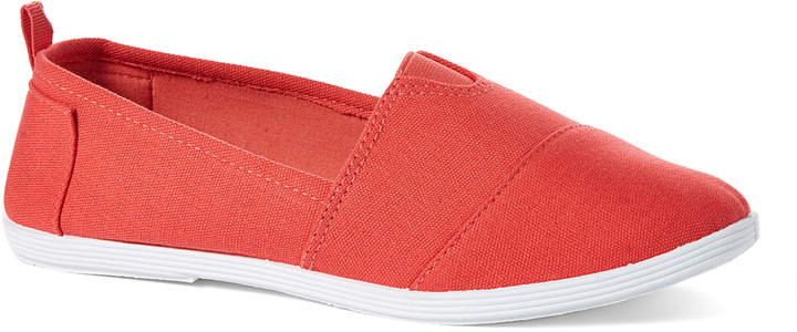 Orange Minimalist Slip-On Shoe - Women
