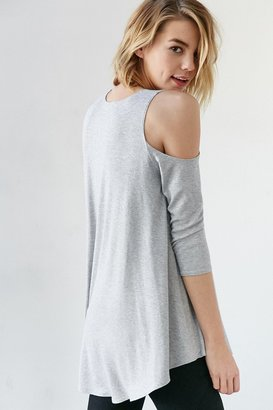 Kimchi Blue Tyra Cold Shoulder Tunic Top $49 thestylecure.com