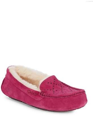 UGG Women's Ansley Crystal UGGpure Slippers