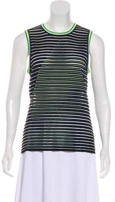Alexander Wang Striped Neon Top