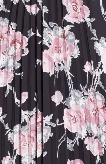 Women's Leith Surplice Floral Print Midi Dress 4