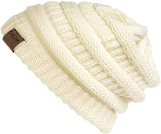 Off-White Galiva Women's Acrylic ComfWarm Winter Beanie,