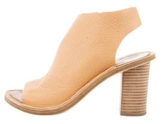 Balenciaga Tan Leather Sandals