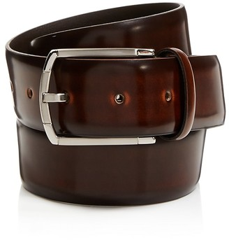 Canali Burnished Cordovan Leather Belt $220 thestylecure.com