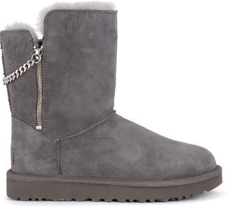 3fd9b827159 UGG Suede Ankle Boots For Women - ShopStyle Canada