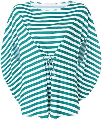 Societe Anonyme Bloody Mary striped top