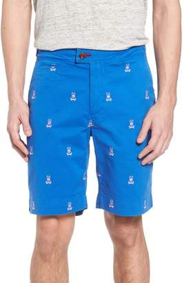 Psycho Bunny Bottoms Embroidered Shorts