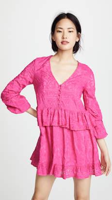 Nicholas N Ivy Embroidery Mini Dress
