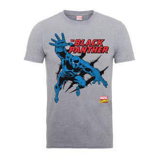 53289e633 Marvel Comics The Black Panther Men's Grey T-Shirt