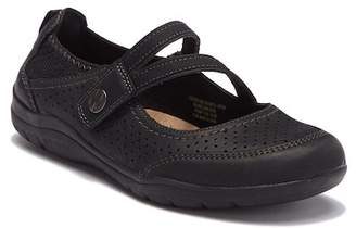 Earth Tiffany Leather Mary-Jane Flat - Wide Width Available