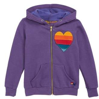 Aviator Nation Heart Full Zip Hoodie