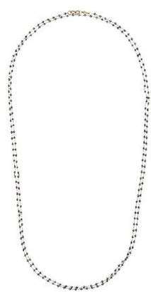Monique Péan 18K Diamond Beaded Necklace