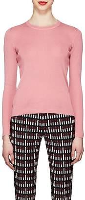 Prada Women's Fine Gauge-Knit Cashmere-Silk Sweater - Pink