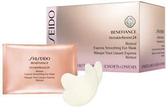Shiseido Benefiance WrinkleResist24 Retinol Express Smoothing Eye Mask