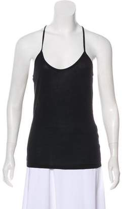 Haute Hippie Racer-Back Tank Top