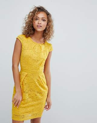 QED London Lace Tulip Dress